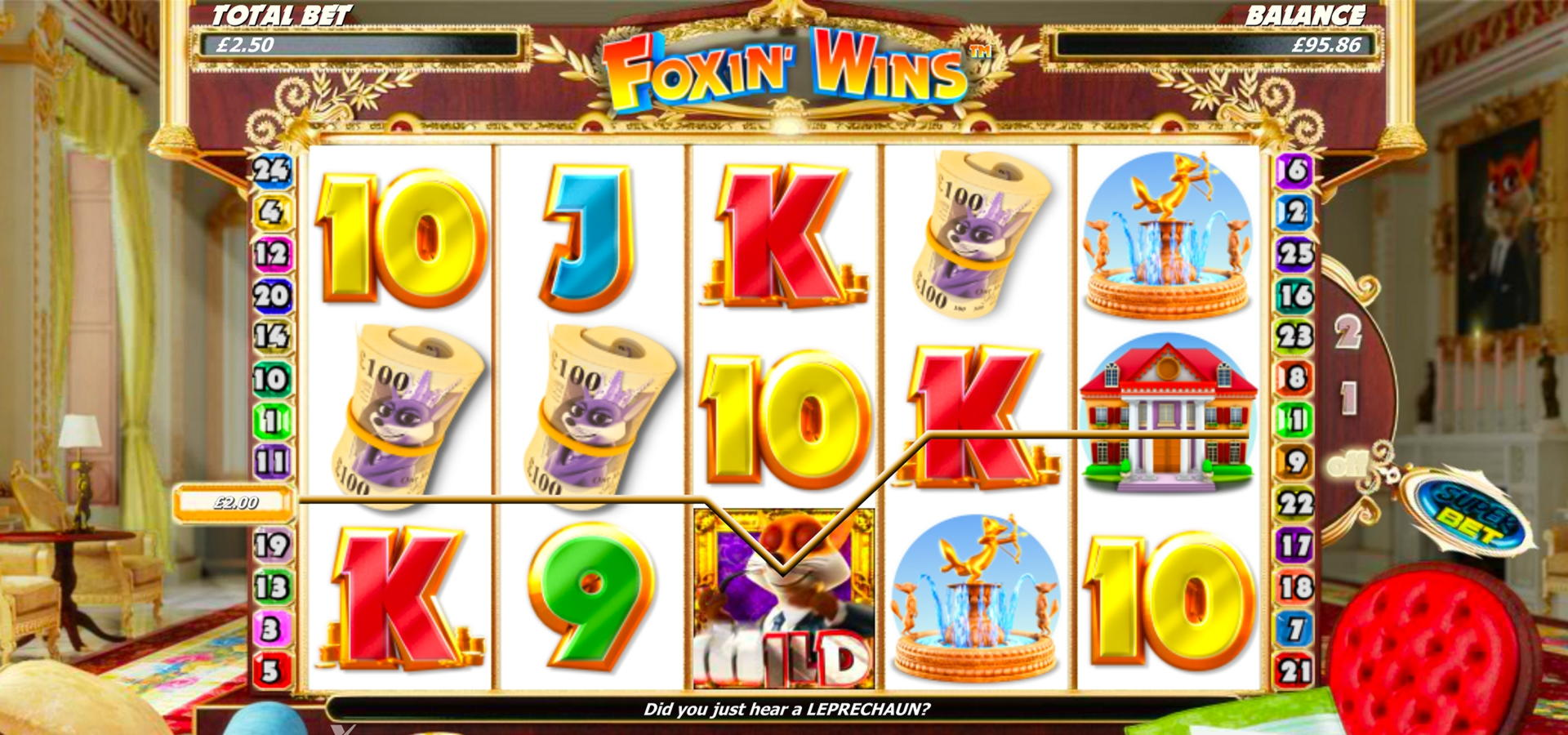 €530 free chip at Power Spins Casino