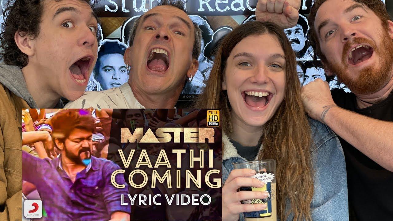 Master - Vaathi Coming Video    Thalapathy Vijay REACTION!!