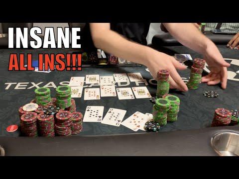 Poker Superstar Is ALL IN Against Me!! I'm Never EVER Folding!! Poker Vlog EP 175